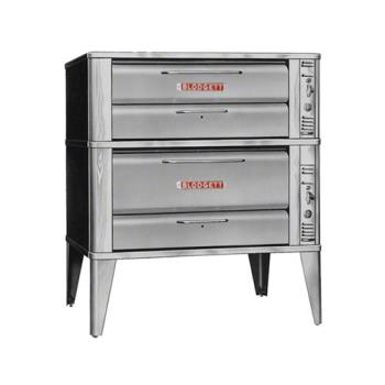BLO961DOUBLE - Blodgett - 961 Double - 60 x 40 in Gas Double Deck Oven - 7 In H Compartment Product Image