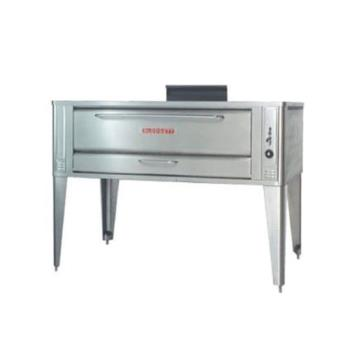 BLO961PSINGLE - Blodgett - 961P Single - 42 x 32 in Gas Single Deck Pizza Oven Product Image
