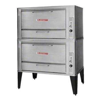 BLO966DOUBLE - Blodgett - 966 Double - 60 x 40 in Gas Double Deck Oven -16 1/4 in H Compartment Product Image