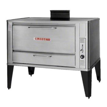BLO966SINGLE - Blodgett - 966 Single - 60 x 40 in Gas Single Deck Oven -16 1/4 In H Compartment Product Image