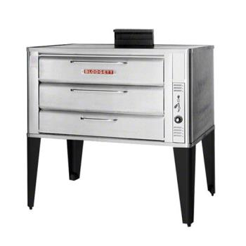BLO981DOUBLE - Blodgett - 981 Double - 60 x 40 in Gas Double Deck Oven - 7 in H Compartment Product Image