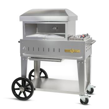 CROCVPZ24MBNG - Crown Verity - CV-PZ-24-MB-NG - 24 in Mobile Pizza Oven Product Image