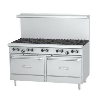 GARG6010RR - Garland - G60-10RR  - 60 in G Starfire Pro Series 10 Burner Gas Range Product Image