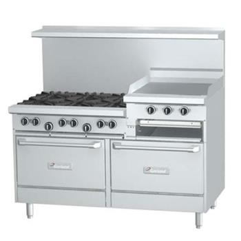 GARG606R24RR - Garland - G60-6R24RR  - 60 in G Starfire Pro Series 6 Burner Gas Range Product Image