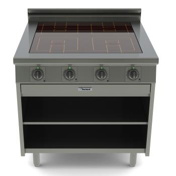 GARGME36I14S - Garland - GME36-i14S - 36 in 4-Burner Master Series Induction Range w/ Storage Base Product Image