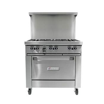GARU366R - Garland - U36-6R  - 36 in U Series 6 Burner Gas Range Product Image