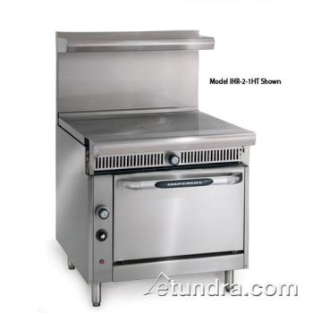 "IMPIHR1FTC - Imperial - IHR-1FT-C - Diamond Series 36"" French Top w/ Convection Oven Product Image"