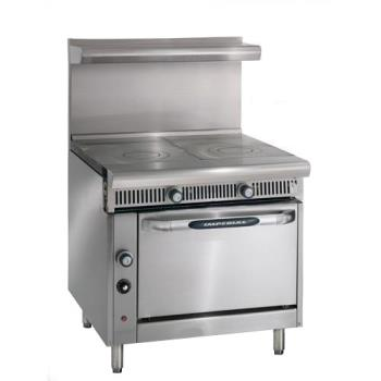 IMPIHR2FT - Imperial - IHR-2FT - 36 in 2 French Top Diamond Series Gas Range w/ Standard Oven Product Image