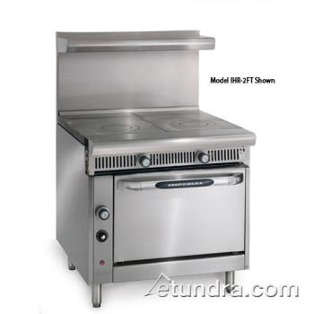 "IMPIHR2FT - Imperial - IHR-2FT - Diamond Series (2) 18"" French Tops w/ Standard Oven Product Image"