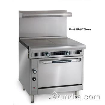 "IMPIHR2HTC - Imperial - IHR-2HT-C - Diamond Series (2) 18"" Hot Tops w/ Convection Oven Product Image"
