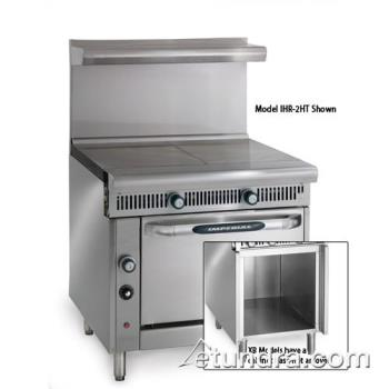 "IMPIHR2HTXB - Imperial - IHR-2HT-XB - Diamond Series (2) 18"" Hot Tops w/ Cabinet Product Image"