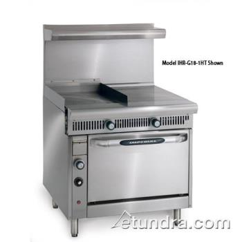 "IMPIHRG181HTC - Imperial - IHR-G18-1HT-C - Diamond Series 18"" Griddle w/ Hot Top & Convection Oven Product Image"