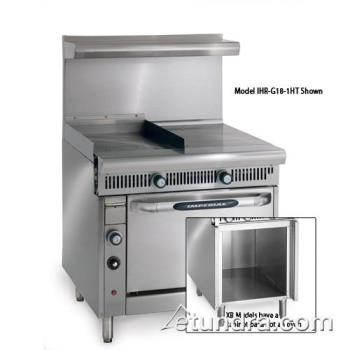 "IMPIHRG181HTXB - Imperial - IHR-G18-1HT-XB - Diamond Series 18"" Griddle w/ Hot Top & Cabinet Product Image"