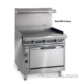 "IMPIHRG36C - Imperial - IHR-G36-C - Diamond Series 36""Griddle- Manual w/ Convection Oven Product Image"