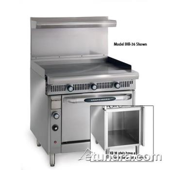 "IMPIHRG36XB - Imperial - IHR-G36-XB - Diamond Series 36"" Griddle- Manual w/ Cabinet Product Image"