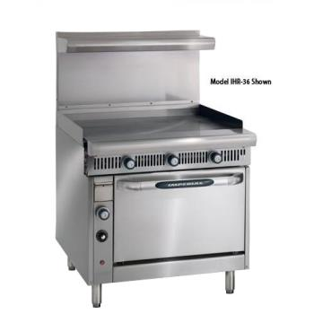 IMPIHRGT36C - Imperial - IHR-GT36-C - 36 in Diamond Series Gas Range w/ Griddle and Convection Oven Product Image
