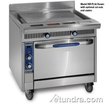 "IMPIHRPL36C - Imperial - IHR-PL36-C - Diamond Series 36"" Plancha Griddle w/ Convection Oven Product Image"