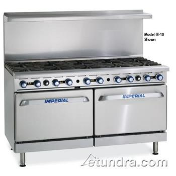 "IMPIR10CC - Imperial - IR-10-CC - 60"" Range w/ 10 Burners & 2 Convection Ovens Product Image"