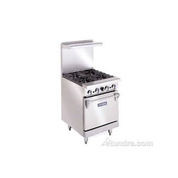 "IMPIR4 - Imperial - IR-4 - 24"" Restaurant Range w/ 4 Burners & Standard Oven Product Image"