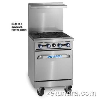 "IMPIR4S18C - Imperial - IR-4-S18-C - 36"" Wide Range w/ 4 Burners & Convection Oven Product Image"