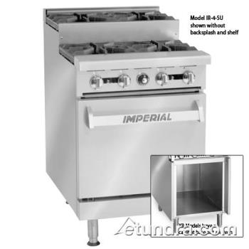 "IMPIR4SUXB - Imperial - IR-4-SU-XB - 24"" Step-up Range w/ 4 Burners & Cabinet Product Image"