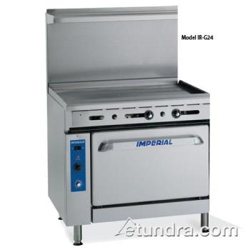 "IMPIRG24 - Imperial - IR-G24 - 24"" Range w/ 24"" Griddle Product Image"