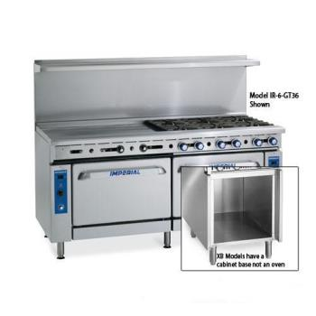 IMPIRG60XB - Imperial - IR-G60-XB - 60 in Gas Range w/ Griddle, Standard Oven and Cabinet Base Product Image
