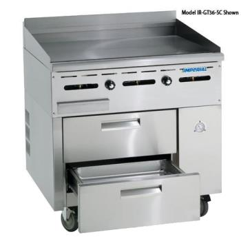 "IMPIRGT36SC - Imperial - IR-GT36-SC - 36"" Sizzle 'N Chill w/ Griddle Top Product Image"