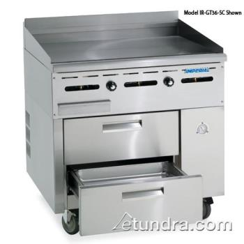 "IMPIRGT60SC - Imperial - IR-GT60-SC - 60"" Sizzle 'N Chill w/ 60"" Griddle Product Image"
