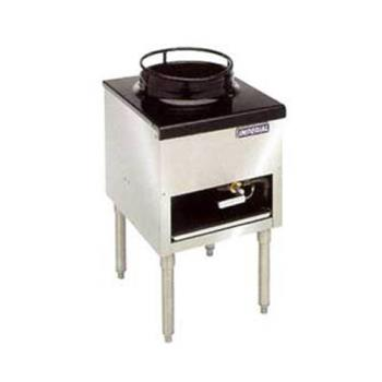 IMPISPJW13 - Imperial - ISP-J-W-13 - 18 in 1-Burner Gas Wok Range w/ 13 in Wok Ring Product Image