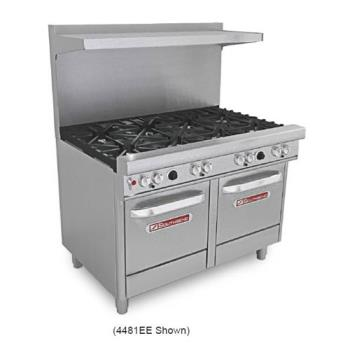 SOU4481EE - Southbend - 4481EE - 400 Series 48 in Restaurant Range with 8 Burners and 2 Standard Ovens Product Image