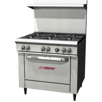 95442 - Southbend - S36D - S Series 36 in Restaurant Range w/ 6 Burners & Standard Oven Product Image