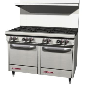 SOUS48EE - Southbend - S48EE - S-Series 48 in Restaurant Range with 8 Burners and Standard Ovens Product Image