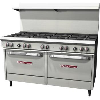 SOUS60DD - Southbend - S60DD - 300 Series 60 in  Range with 10 Burners and Standard Ovens Product Image