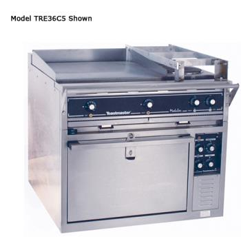 "TOATRE36C5 - Toastmaster - TRE36C5 - 36"" Range w/Griddle, (2) Hotplates & Convection Oven Product Image"