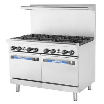 TURTAR8 - Turbo Air - TAR-8 - 48 in 8-Burner Radiance Series Gas Range w/ Standard Ovens Product Image