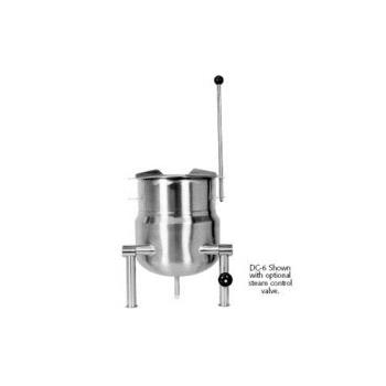 SOUKDCT6 - Crown Steam - DC-6 - 6 Gallon Direct Steam Kettle Product Image