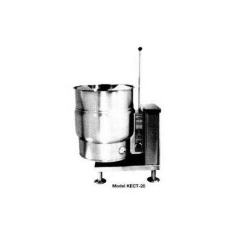 SOUKECT20 - Crown Steam - EC-20T - 20 Gallon Electric Floor Steam Kettle Product Image