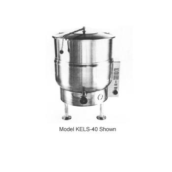 SOUKELS40 - Crown Steam - EL-40 - 40 Gallon Electric Floor Steam Kettle Product Image