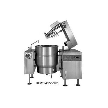 SOUKEMTL40 - Crown Steam - ELTM-40 - 40 Gallon Single Electric Mixer Steam Kettle Product Image
