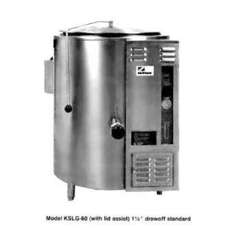 SOUKSLG20 - Crown Steam - GL-20E - 27.5 in 20 Gallon Gas Floor Steam Kettle Product Image