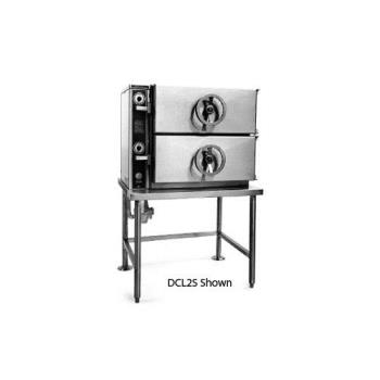 SOUDCP2S - Southbend - DCP-2S - 2 Compartment Floor Steamer with  Pedestal Base Product Image