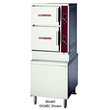 SOUDCX2S6 - Southbend - DCX-2S-6 - 44 in 6 Pan Convection Steamer with  Direct Steam Base Product Image