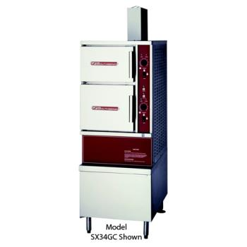 SOUGCX16 - Southbend - GCX-16 - 36 in 16 Pan Convection Steamer with  Gas Boiler Product Image
