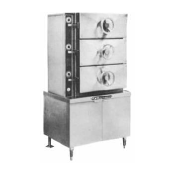 SOUSC3S - Southbend - SC-3S - 3 Compartment Pressure Steamer with  Steam Coil Product Image