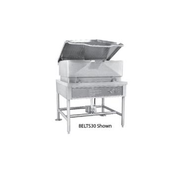 SOUBELTS40 - Crown Steam - ELTS-40 - 40 Gallon Electric Floor Tilt Skillet with  Electric Tilt Product Image