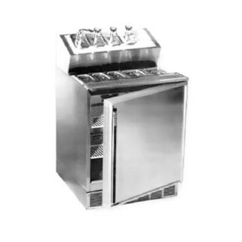 SILSKF2A - Silver King - SKF2A/C1 - Fountainette Syrup Rail w/ Reach-In Refrigerated Base Product Image