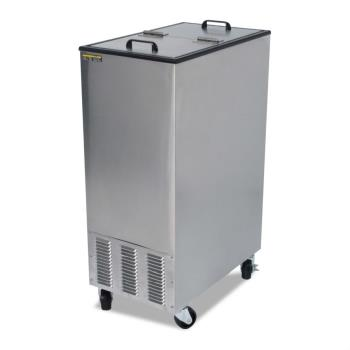 SILSKEFT15IL1BK1 - Silver King - SKEFT15-IL-1-BK1 - Dual Lid Mobile Ice Cream Freezer Product Image