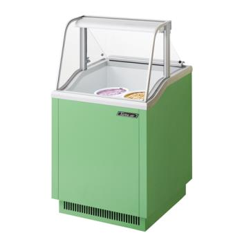 TURTIDC26G - Turbo Air - TIDC-26G - 26 in Green Ice Cream Dipping Cabinet Product Image
