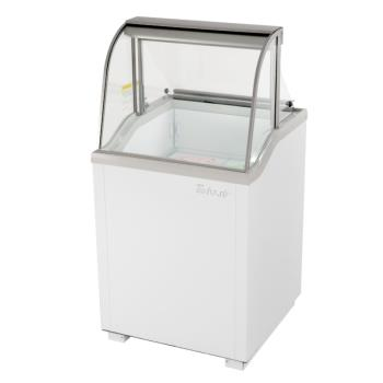 TURTIDC26WN - Turbo Air - TIDC-26W-N - 26 in White Ice Cream Dipping Cabinet Product Image